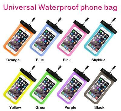 6  Waterproof Case Pouch Bag Universal Mobile Phones Driver License Passport Id