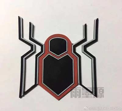 Far From Home Spiderman Costume Rubber 3D Logo Cosplay For Suit a Pair Logo](Costumes For A Pair)