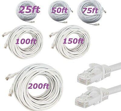 Cat 6 CAT6 Patch Cord Cable 500mhz Ethernet Internet Network LAN RJ45 UTP -
