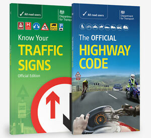 DVSA OFFICIAL HIGHWAY CODE & KNOW YOUR TRAFFIC SIGNS PAPERBACK 2016