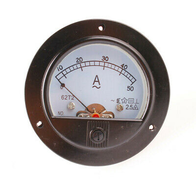 Us Stock Ac 050a Analog Amp Current Panel Meter Ammeter Current Transformer