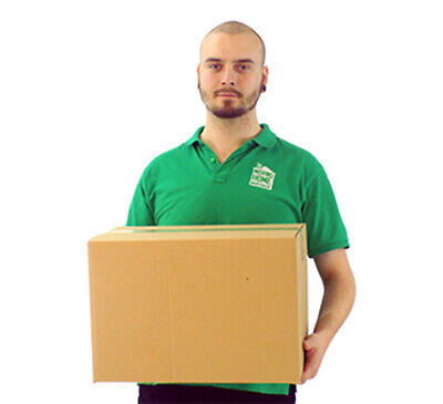 5 x Medium Double Wall Box House Moving Removal Packing Strong Cardboard Boxes