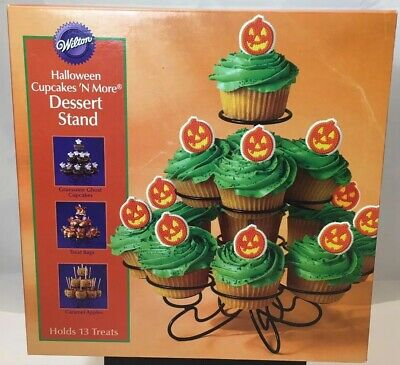Wilton Halloween Cupcake Stand (Halloween & Parties Cupcakes n More Dessert Stand Holds 13 from Wilton 847)