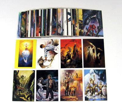 1994 Comic Images Boris 4 Magnificent Myths Trading Card Set (90) Nm/Mt
