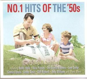 NO-1-HITS-OF-THE-50s-3-CD-BOX-SET-BUDDY-HOLLY-ELVIS-MANY-MORE