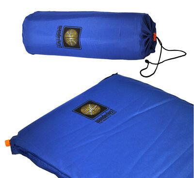 selbstaufblasende Luftmatratze 183x51x3,8cm Isomatte Campingmatte Liegematte