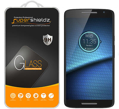 2X Supershieldz Tempered Crystal Screen Protector Saver For Motorola Droid Maxx 2