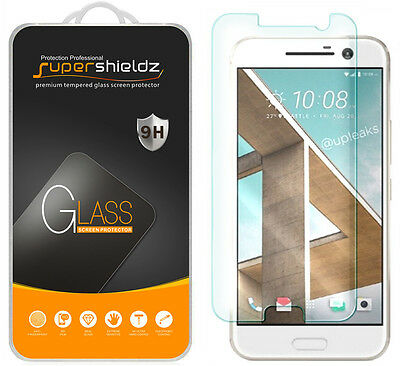 2X Supershieldz Tempered Crystal Screen Protector Saver Shield For HTC 10