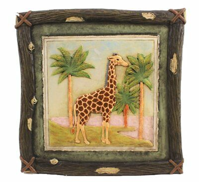 African Plaques Cold Cast Wall Art  12
