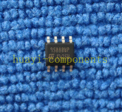 10pcs M95080-wmn6t Original 95080wp St Ic Eeprom 8kbit 10mhz 8soic New