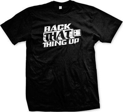Nerd T Shirts (Back That Thing Up USB Nerd Geek Humor Funny Computer Joke Mens)