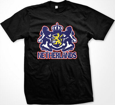 Netherlands Dutch Nederland Coat of Arms Seal Insignia Lions New Men's -