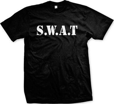 SWAT Halloween Costume Funny Humor Joke Meme Internet Mens T-shirt
