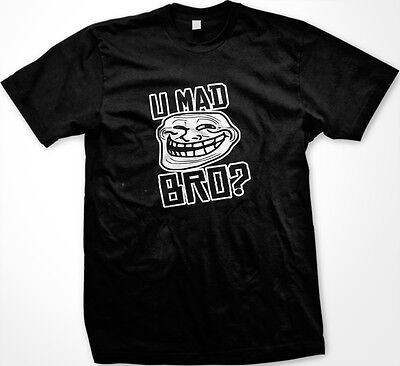 SALE U Mad Bro? Jersey Shore Funny TV Show Italian Muscle Head OLMC T-shirt](Funny Jersey Shore)