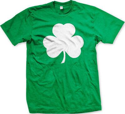 Shamrock Irish Ireland St Patricks Day Lucky Charm Eire Pot Gold Mens T-shirt