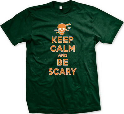 ry Halloween Poster Skull Bats Costume Party Men's T-Shirt (Scary Halloween-poster)