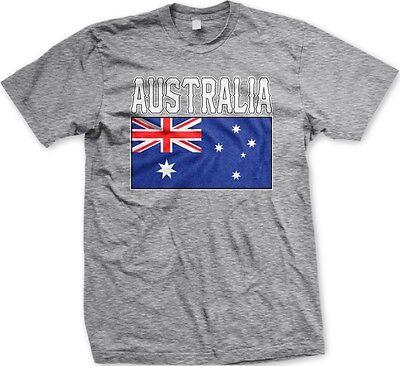 Country Flags T-shirt - Australia Australian Country Flag Nationality Ethnic Pride -Men's T-shirt