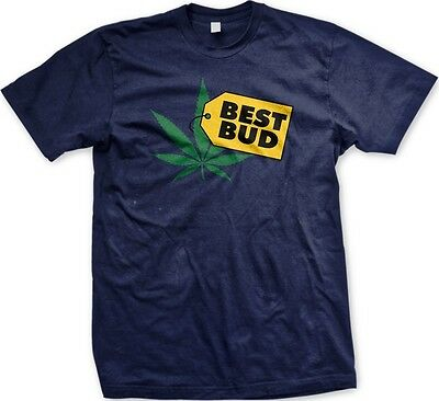 Best Bud Parody Best Buy Weed Pot Funny Sayings Slogans Statements -Mens