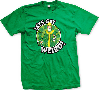 - Let's Get Weird! Drunk Irish Catholic Priest St. Patrick's Day Mens T-Shirt