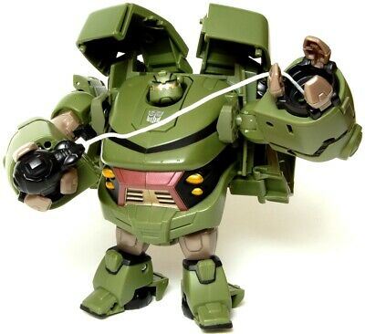 Transformers Animated BULKHEAD Complete Voyager