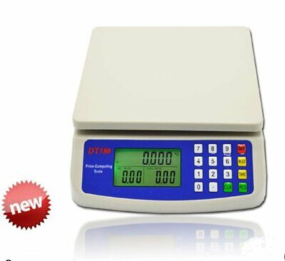 Digital Deli Meat Food Computing Retail Price Scale Fruit Produce Counting 66lb