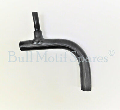 Morris Minor Radiator Bottom Hose - Late Type with Heater Branch REINFORCED