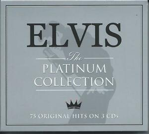 Elvis Presley - The Platinum Collection...Greatest Hits (3CD) NEW/SEALED