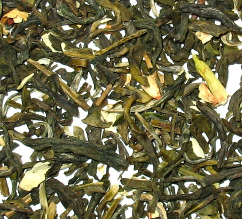Green Tea with Jasmine flowers loose tea  1 LB  Bag
