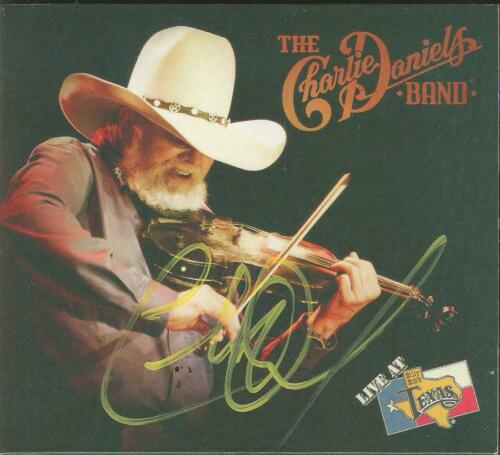 Charlie Daniels Band Autographed Live At Billy Bob's Texas CD