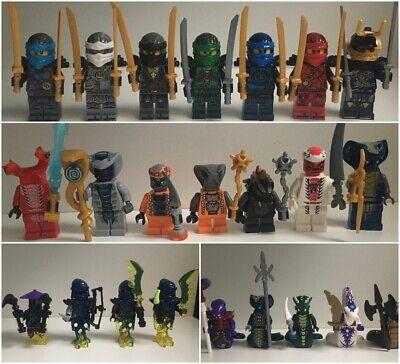 Lego Ninjago Style Minifigures - Ninjas, Snakes, Ghosts