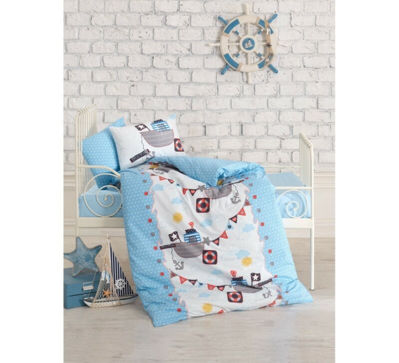 Crib Bedding Baby Boys 4pcs Bedding Set /%100 Turkish Cotton DINOSAURS