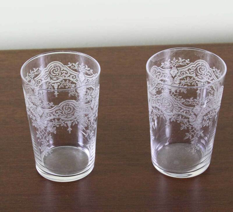 Set of 2 Charming Liquor Large Glass