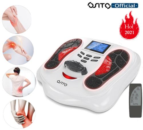 OSITO Fußmassagegerät mit Wärmefunktion Shiatsu Fussmassage Elektrisch Kneten EU