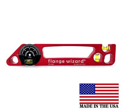 Flange Wizard Pp-200 Magnetic Pocket Pro Level