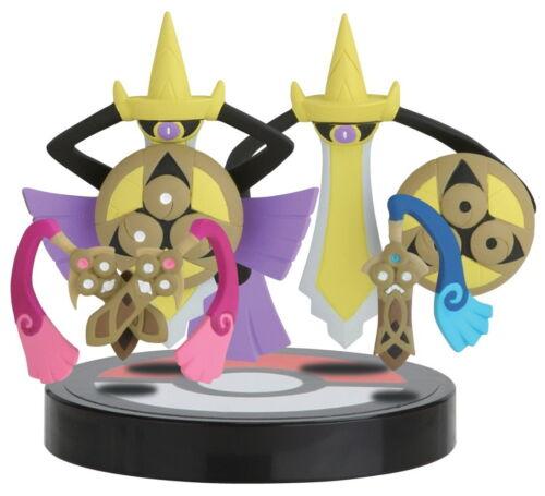 Pokemon Anime Zukan 3D Encyclopedia 1/40 Scale Figure~ Aegislash Doublade @80220