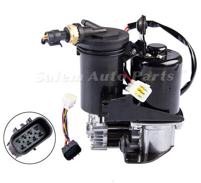 Air Suspension Compressor Pump w Dryer for GMC SUV Chevy Tahoe Cadillac Escalade