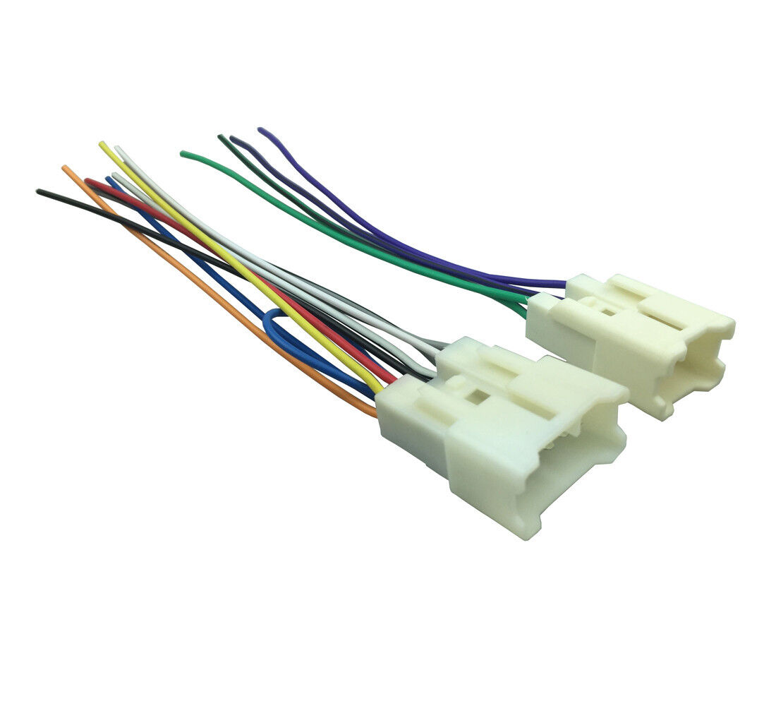 Details about For TOYOTA Stereo CD Player Wiring Harness Adapter Aftermarket on chevy trailblazer stereo harness adapters, radio harness adapters, car audio harness adapters, car stereo adapters, stereo wiring harness kit, stereo wiring harness color codes,