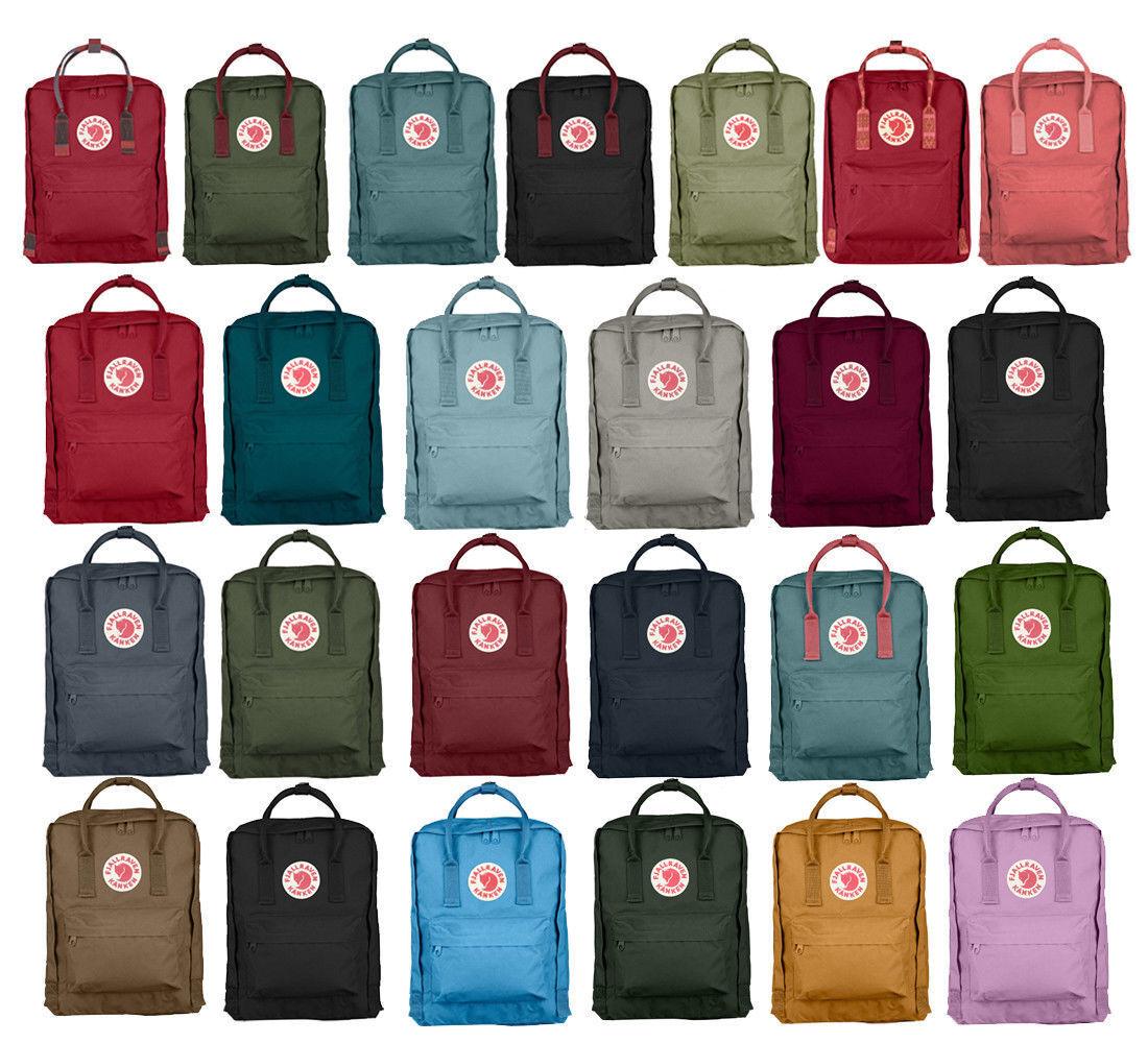 Neu Kanken Mini Backpack KINDER Rucksack Tasche Unisex7/16/20 Liter Cityrucksack