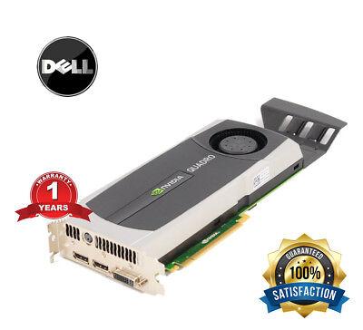 Dell Nvidia Quadro 5000 2.5GB GDDR5 Video Graphics Card YMYKM 0YMYKM DVI DP PCIE segunda mano  Embacar hacia Spain