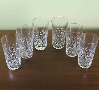 Wonderful  Orrefors Set for 6 Tumbler or Scotch-Whisky Glass