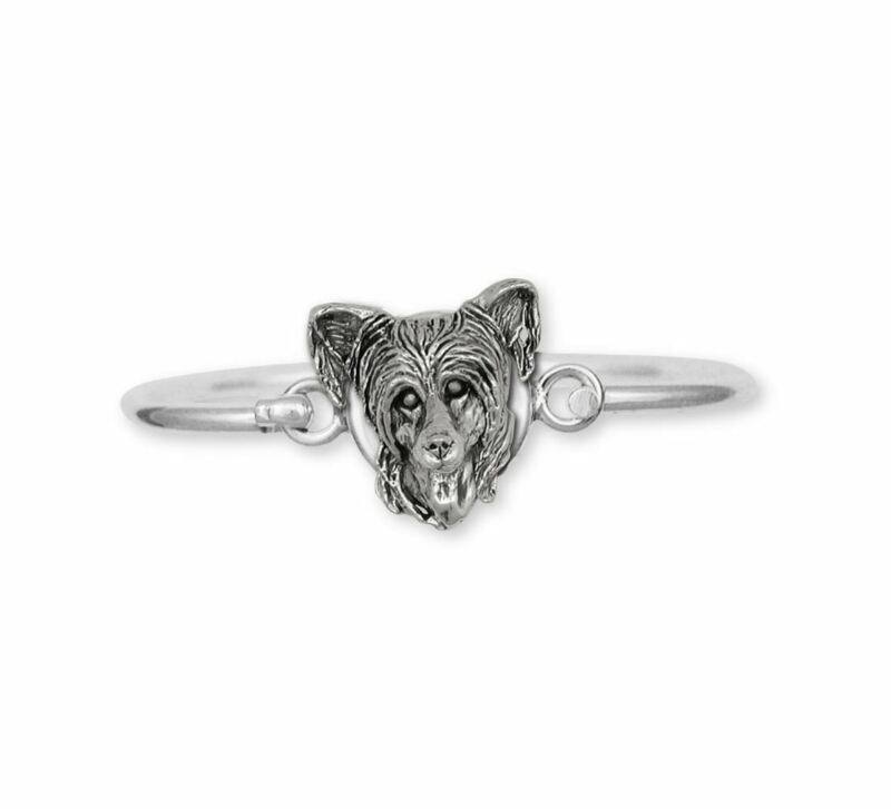 Chinese Crested Bracelet Jewelry Sterling Silver Handmade Dog Bracelet CC3-HB