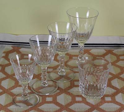 Exquisite 5 pc Crystal Set  designed for Renwick & Clark