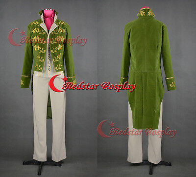 Cinderella Prince Charming Richard Madden Cosplay Costume Tuxedo Outfit Attire (Adult Cinderella Outfit)
