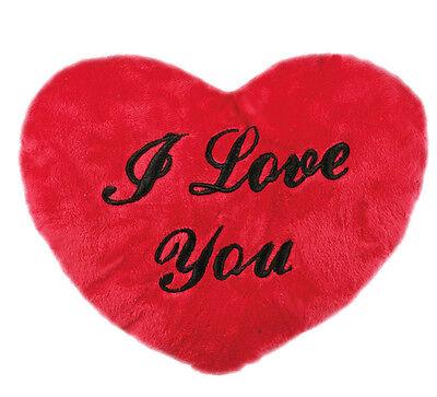 Plüschkissen - Herz Kissen - Kissenherz - Herzkissen verschiedene Größen