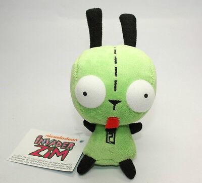 Mini Alien Invader Zim Dog Suit Gir Robot Plush Doll Toy 5.5 inch Gift USA