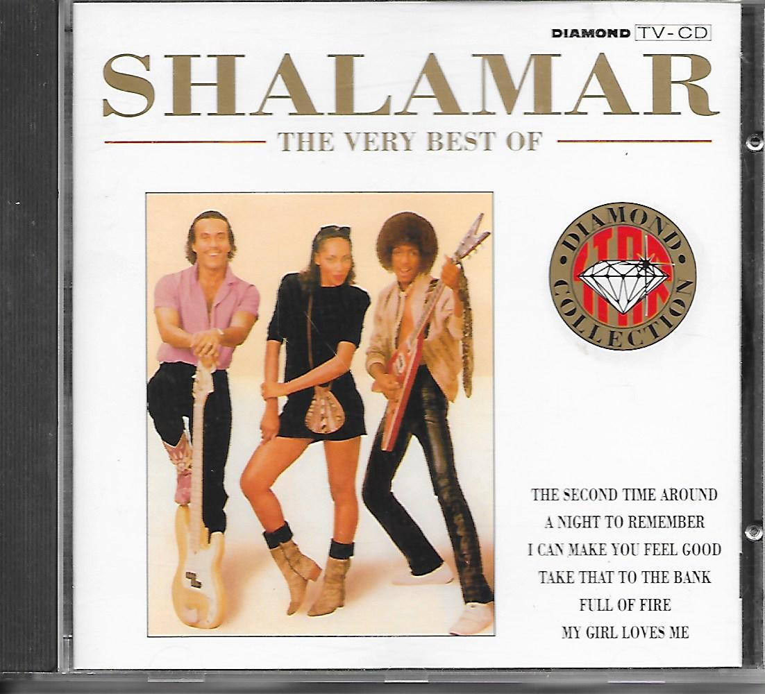 SHALAMAR - The Very Best Of CD Album 14TR (DIAMOND COLLECTION) 1991 BENELUX