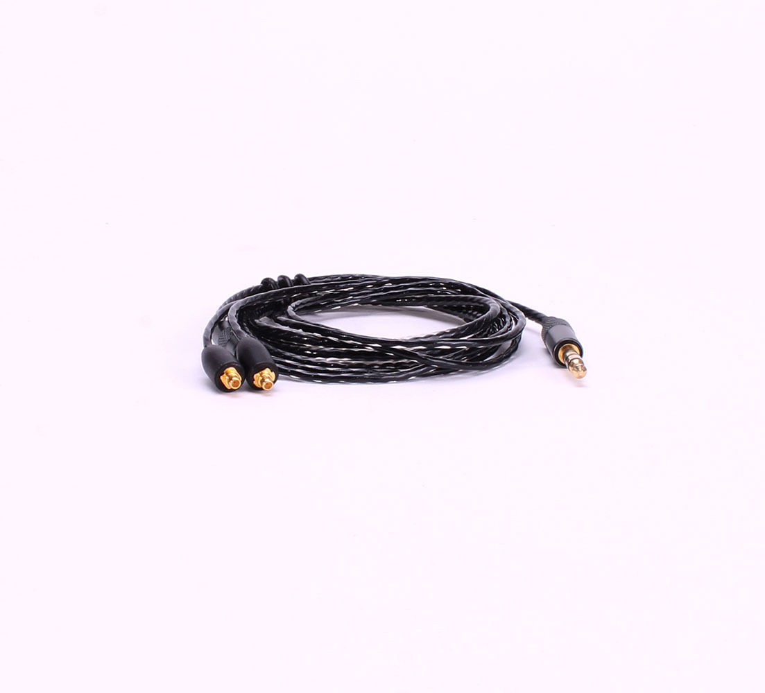 Silver Plated Replacement Headphone Cable fo Shure SE215 SE3