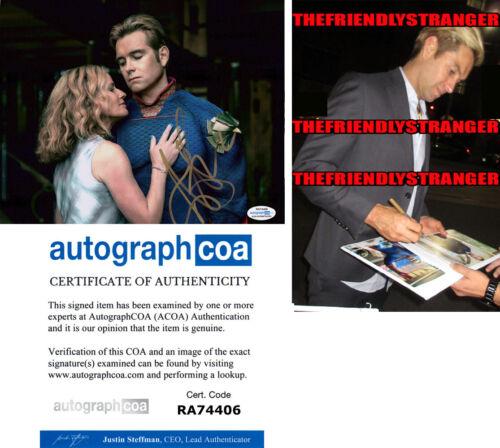 """ANTONY STARR signed Autographed """"THE BOYS"""" 8X10 PHOTO i PROOF - Homelander ACOA"""