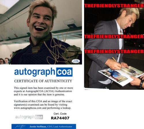 "ANTONY STARR signed Autographed ""THE BOYS"" 8X10 PHOTO j PROOF - Homelander ACOA"