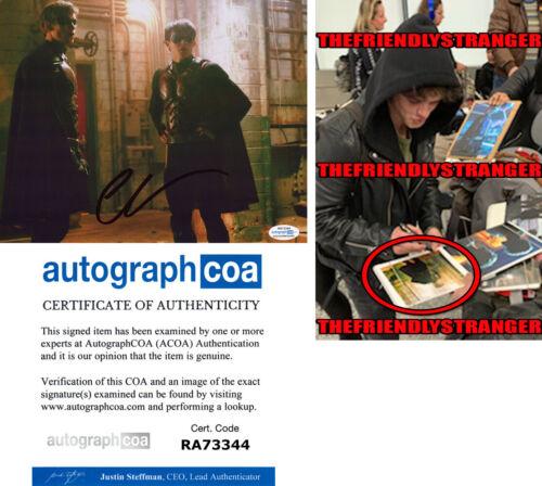 "CURRAN WALTERS signed ""TITANS"" 8X10 PHOTO L - EXACT PROOF - ROBIN Jason ACOA COA"